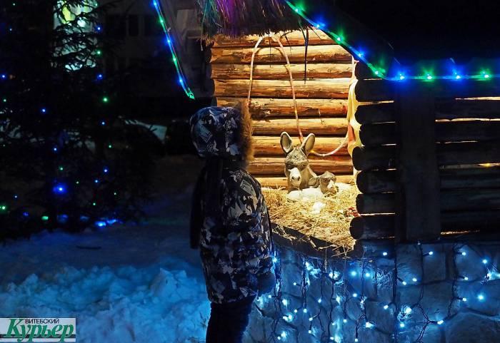 Какая будет погода на Рождество в Витебске