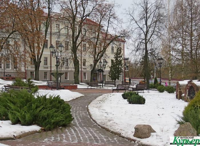 В Витебске на следующей неделе будет холодно