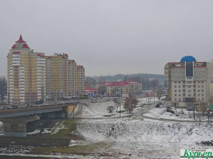 В центре Витебска здание ОАО«Жилстрой» давно превратилось в долгострой