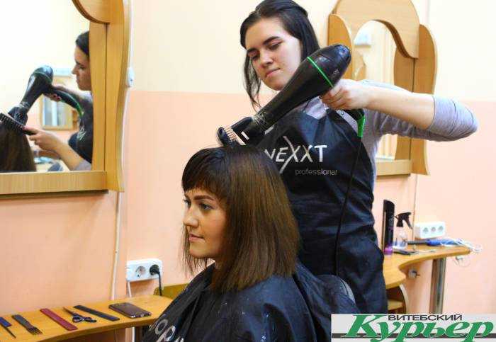парикмахер, стрижка