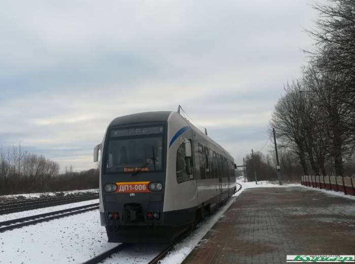 Поезд бизнес-класса 9 декабря впервые вышел на маршрут Лепель — Орша