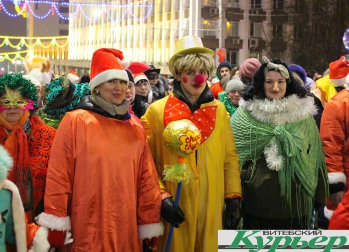 парад, новый год