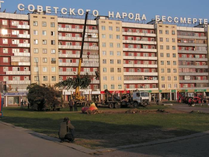10 лет назад в Витебске на площади Победы был уничтожен сквер и площадь Свободы перестала быть центром города