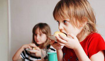 дети, еда