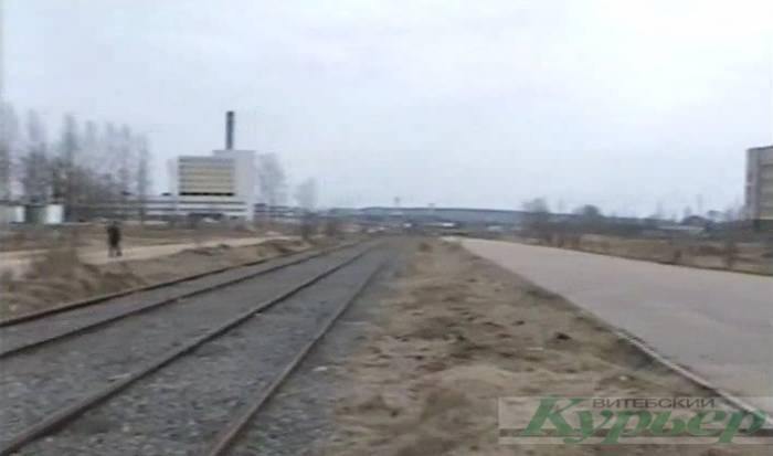 Как в Витебске на улице Воинов-интернационалистов положили, а потом демонтировали рельсы