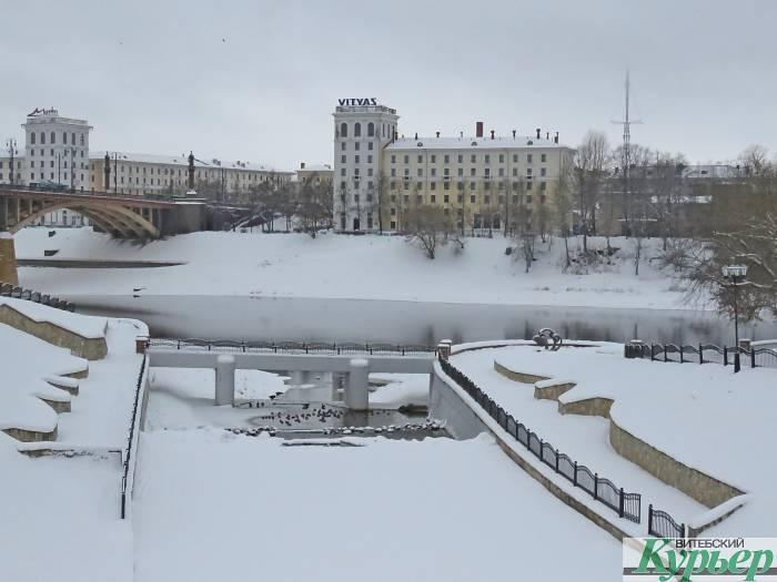 На следующей неделе в Витебск придут 20-градусные морозы