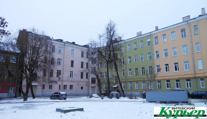 Дом с гостиницей «Эридан». Девяностолетняя история Витебска не с фасада