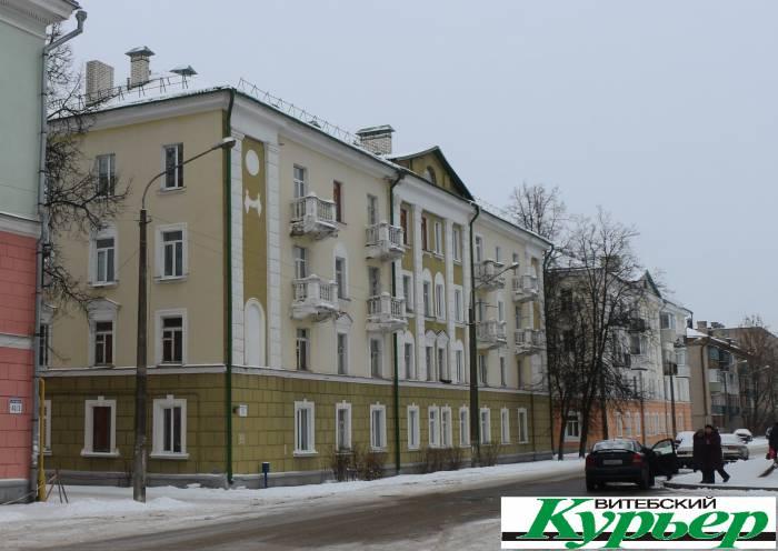 Улица Максима Горького в Витебске 65 лет назад (видео)