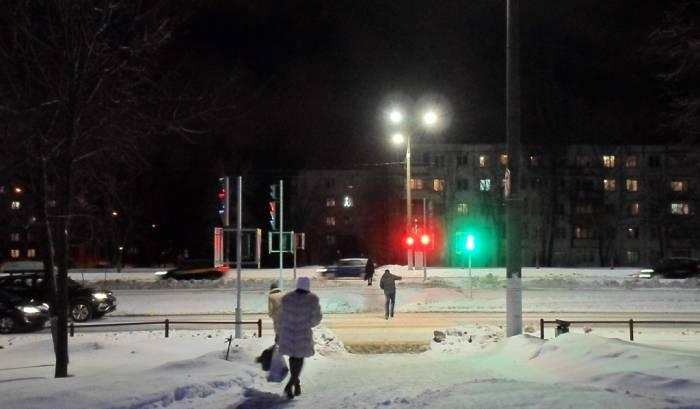 На улице Смоленской в Витебске заработали светофоры