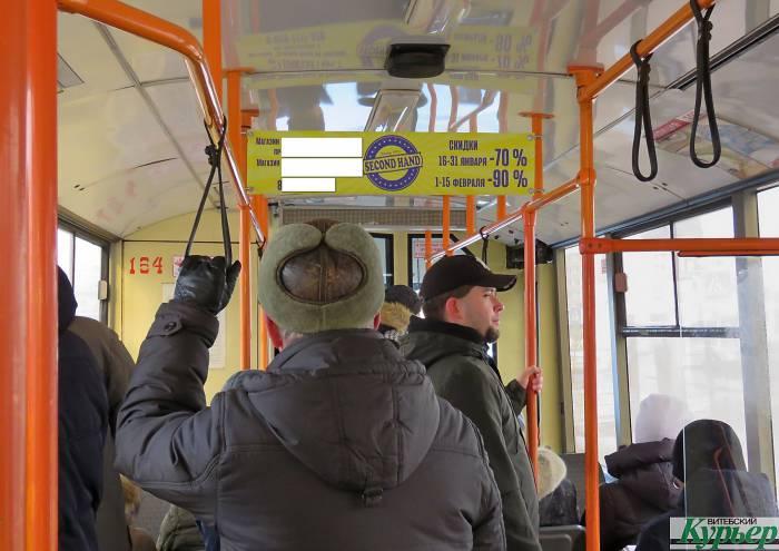 Уберут ли звуковую рекламу в общественном транспорте Витебска?