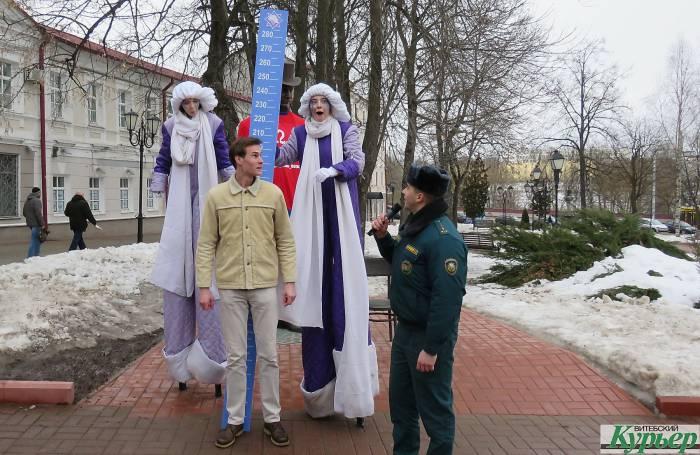 Витебские спасатели «приняли» в свой отряд Федора Махнова