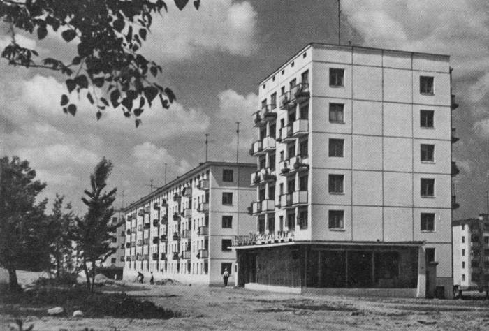 Московский проспект. Каким он был 55 лет назад