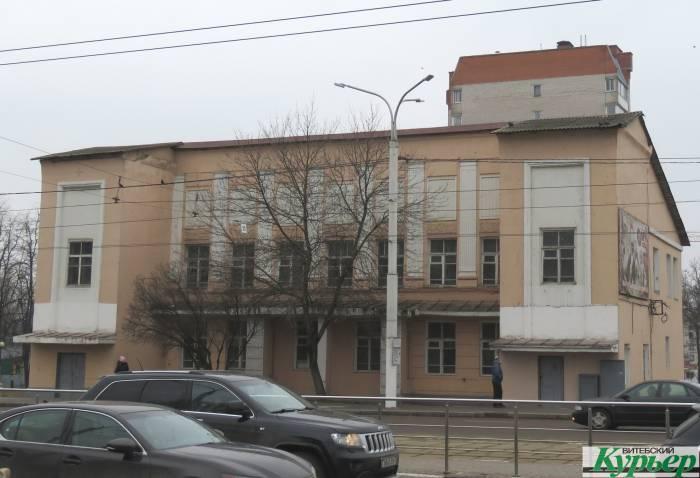 В Витебске будет еще один многофункциональный центр. Бывший клуб летчиков превратиться в современное здание со стеклянным фасадом