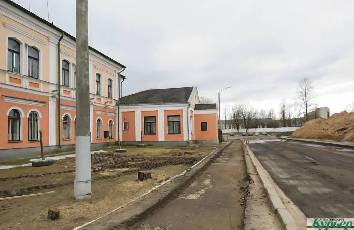 В Витебске будут сносить часть здания станции скорой помощи возле Полоцкого путепровода