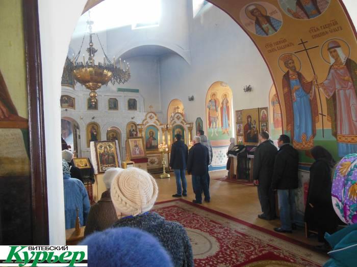 В Витебске в Марковом монастыре можно поклониться чудотворной иконе из Украины