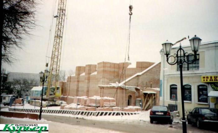 Что хотели построить на месте Воскресенской церкви в Витебске? Клумба, кафе-мороженое, дом мод и театр «Лялька»