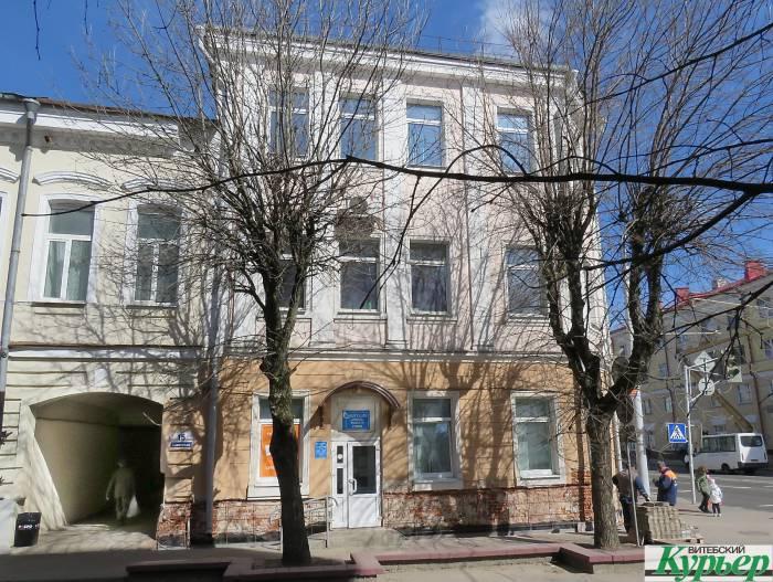 Еще один Ленин в Витебске в здании почты. Почту отремонтируют, а Ленин останется