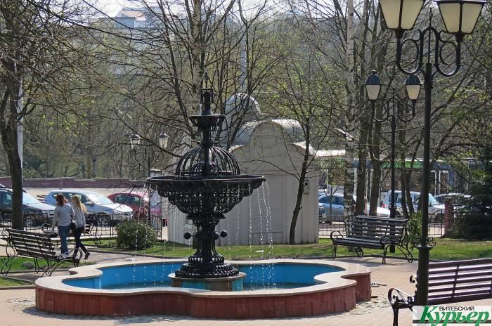 Сколько фонтанов заработает в Витебске совсем скоро