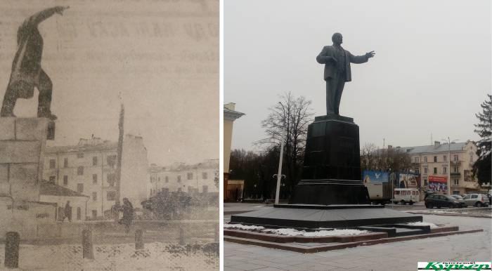 5 интересных фактов о довоенном памятнике Ленину в Витебске