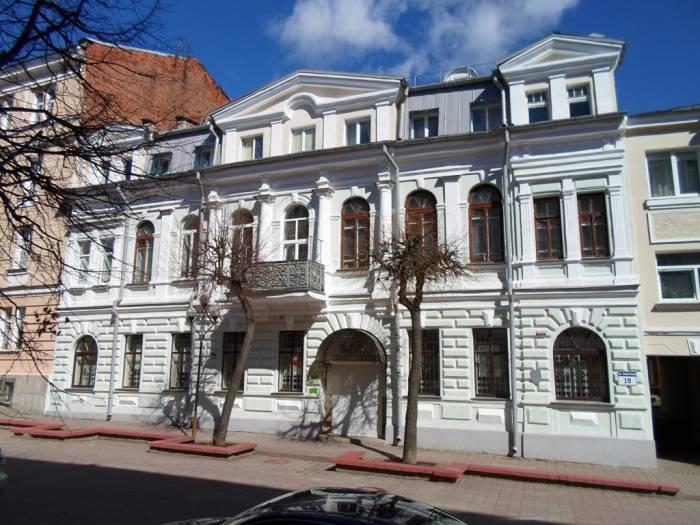 Вчера в Витебске горел дореволюционный особняк на улице Суворова