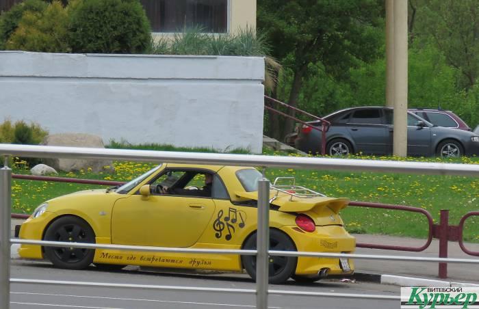Интересный экземпляр авто на улицах Витебска