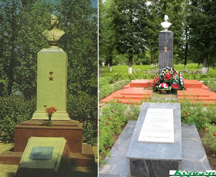 Как Иисус Христос. В Оршанском районе есть могила Героя Советского Союза, обладающая мистической силой