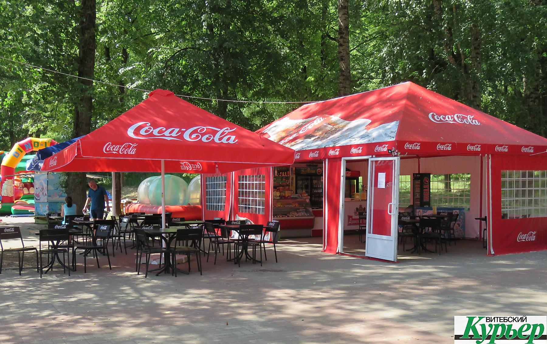 На Витьбе в месте массового отдыха горожан снова продают крепкие спиртные напитки