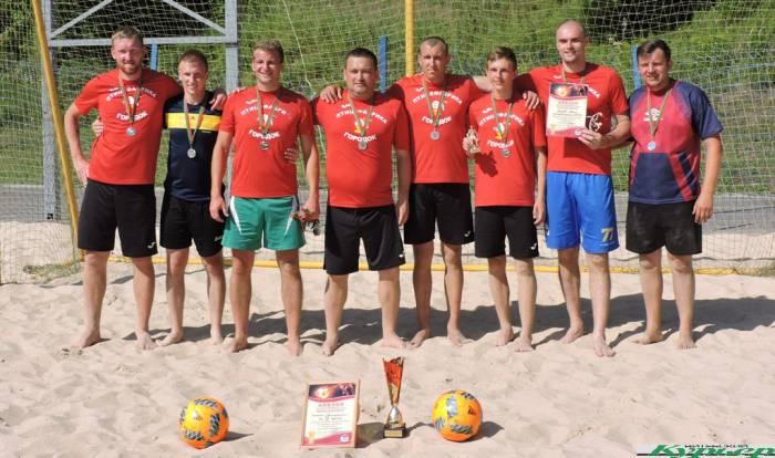 В Витебске прошел открытый кубок по пляжному футболу