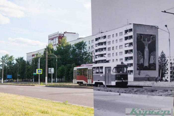 7 фотографий Витебска, на которых мы совместили прошлое и настоящее. Посмотрите, что изменилось!