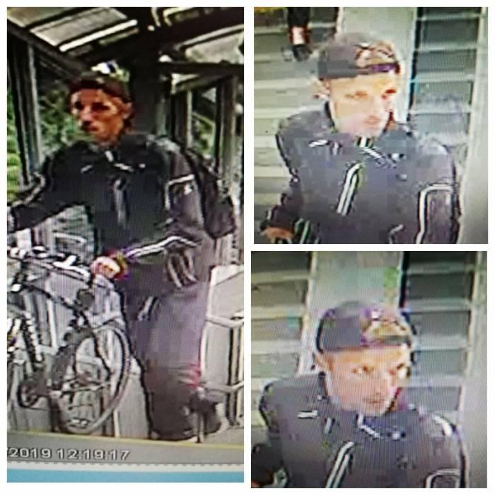 В Витебске разыскивается парень, который подозревается в причинении телесных повреждений 78-летнему дедушке на переходном мосту железнодорожного вокзала