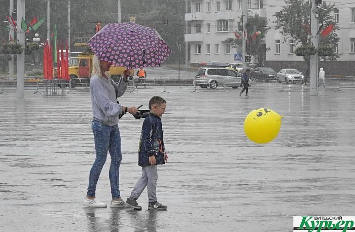 В дни «Славянского базара» Витебск накроет новая волна холода