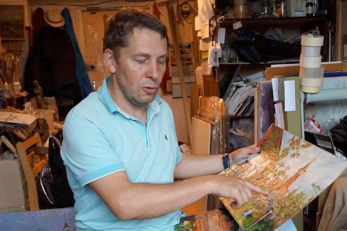 В Витебске открылась выставка художника из Перми Сергея Подреза