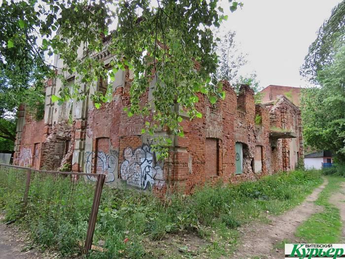 В Витебске Любавичскую синагогу планируют облагородить, а территорию возле нее превратить в зону для отдыха и досуга