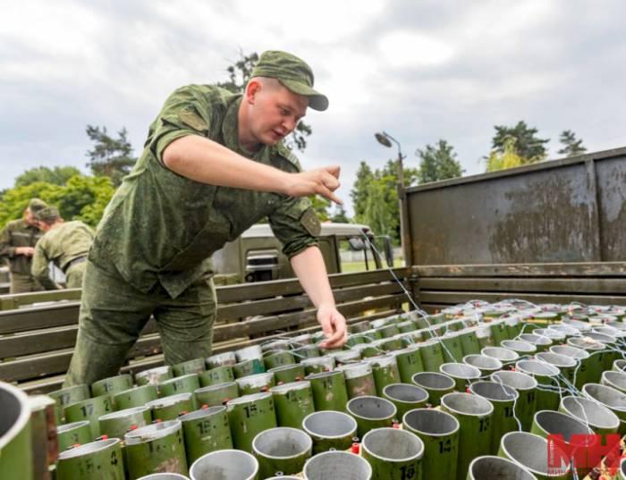Посмотрите, как выглядели «новые фейерверки», которые взорвались на салюте 3 июля в Минске