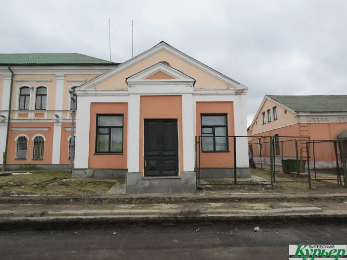 В Витебске снесли часть здания, построенного в начале ХХ века для еврейской больницы на благотворительные пожертвования