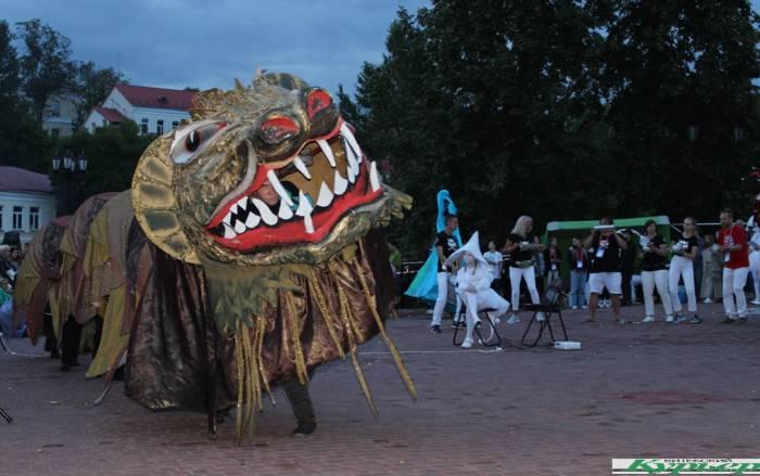 Как в Витебске закрывали 5-й фэст уличного искусства «На семи ветрах»