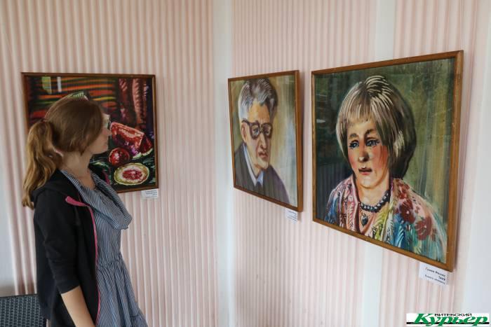 Выставка «Витебская акварель» Феликса Гумена открылась в эти фестивальные дни
