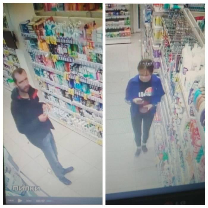 В Витебске ищут мужчину и женщину, которые украли косметику в магазине «Мила»