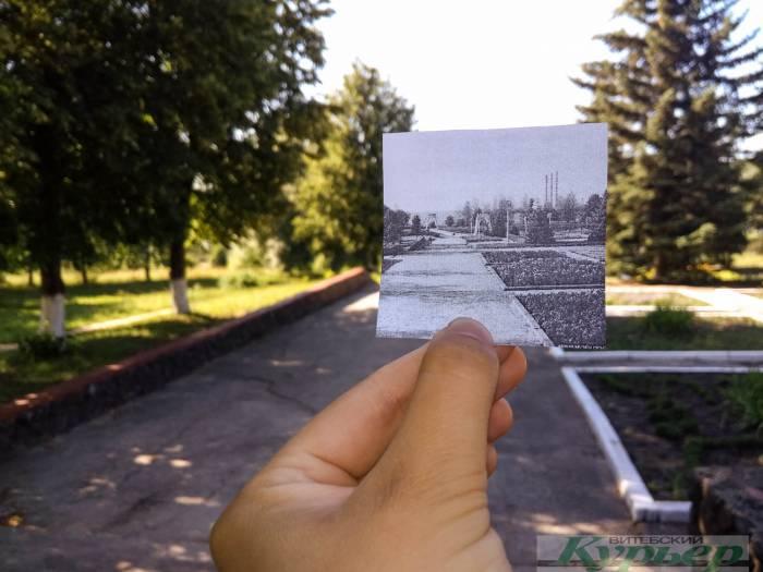5 старых фотографий Новолукомля, где мы сложили прошлое и настоящее