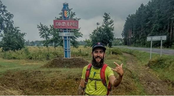 Добежал! Парень из Витебска планировал пробежать всю Беларусь за 10 дней и сделал это!