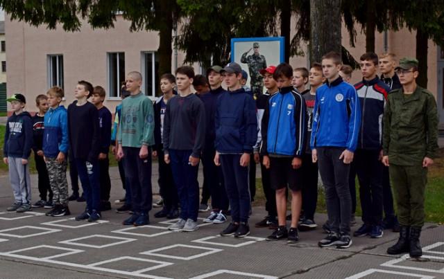 В Новолукомле открыли межшкольный центр допризывной подготовки на базе средней школы №1