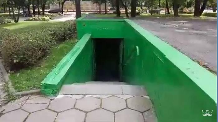 Жуткие места Витебска. Общественный туалет на улице Чехова