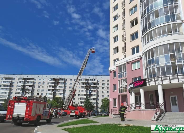 Что сегодня случилось на улице Правды в Витебске