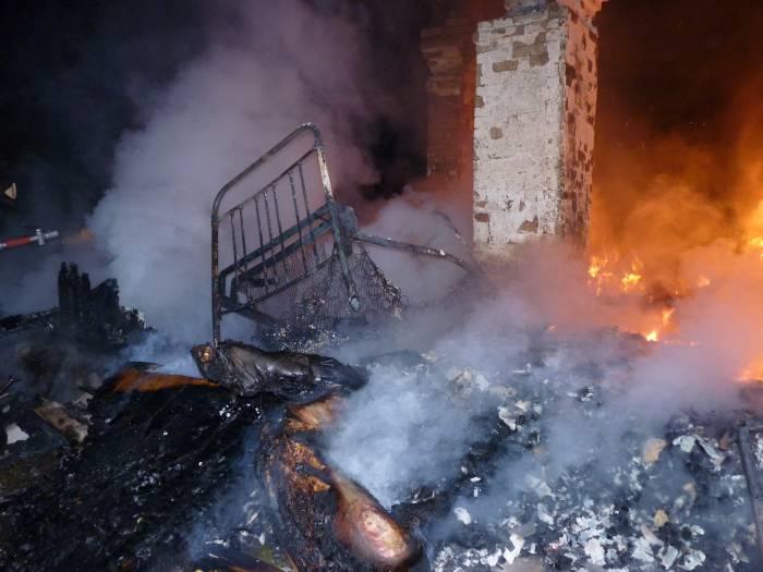 Три человека погибли на пожарах в Витебской области