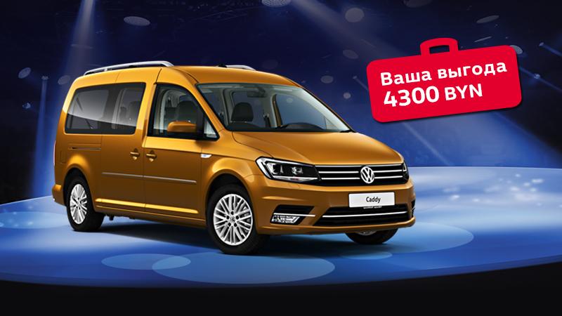 БОЛЬШАЯ распродажа коммерческих автомобилей Volkswagen в Витебске! Выгода до 8600 рублей!
