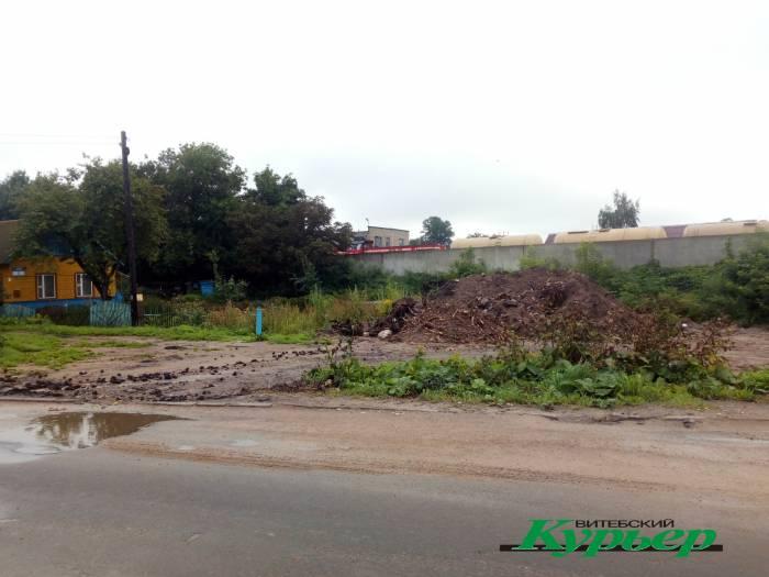 Как живут на улице Мичурина в Витебске во время строительства Полоцкого путепровода