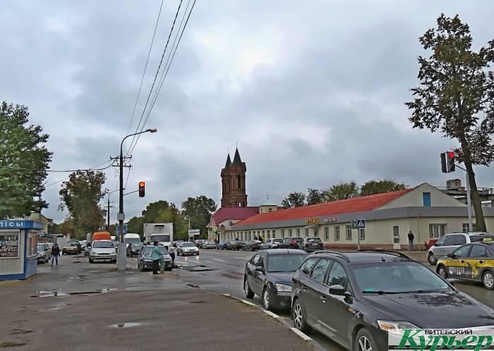Закрывается движение транспорта и пешеходов по улице Ленинградской в Витебске