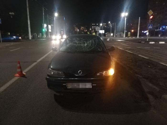 20-летний водитель сбил 20-летнего пешехода на проспекте Черняховского в Витебске