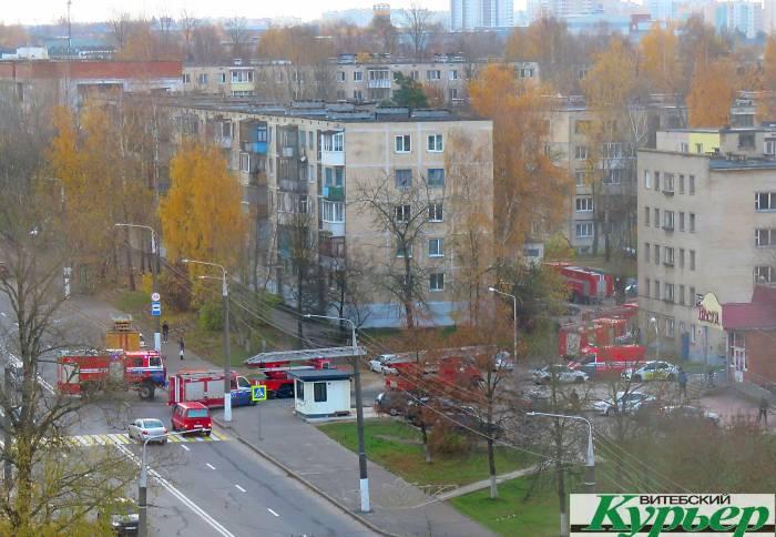 Сегодня пожарные машины с сиренами опять промчались по Витебску. Что случилось?