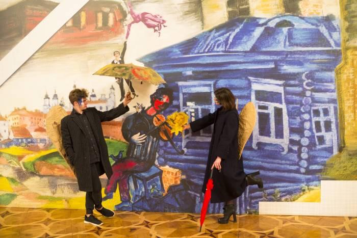 В Витебске начался самый душевный фестиваль осени. Посмотрите, как к нему готовились и как прошел первый день «Витебского листопада–2019»